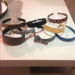 8 piece headband set